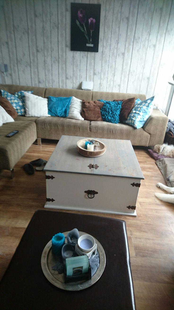 Meer dan 1000 ideeën over verf houten tafels op pinterest   bar ...