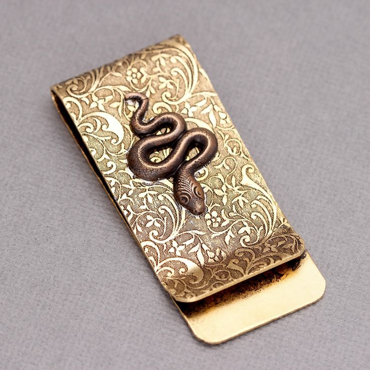Excited to share the latest addition to my #etsy shop: Snake Money Clip For Men Money Clip Snake Money Clip For Men Brass Money Clip Money Clip Men Steampunk Men http://etsy.me/2zhLBER #accessories #moneyclip  #mensmoneyclip #menssteampunk #snake