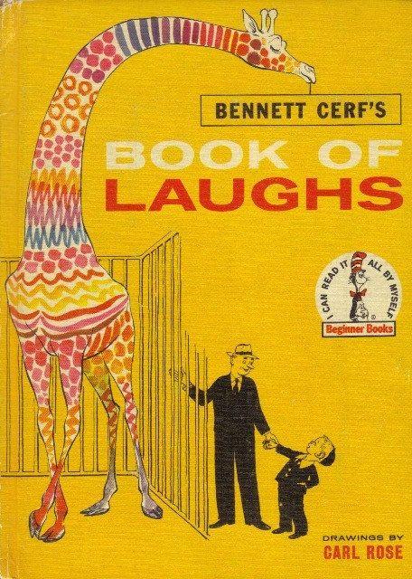 the book of laughs  bennett cerf   Bennett Cerf's Book of Laughs