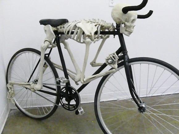 Skeletal bike, eek!!