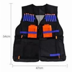 [ 42% OFF ] Tactical Vest Nerf Tactical Vest Jacket Waistcoat Magazine Ammo Holder For N-Strike Elite Pistol Bullets Toy Guns Clip Darts
