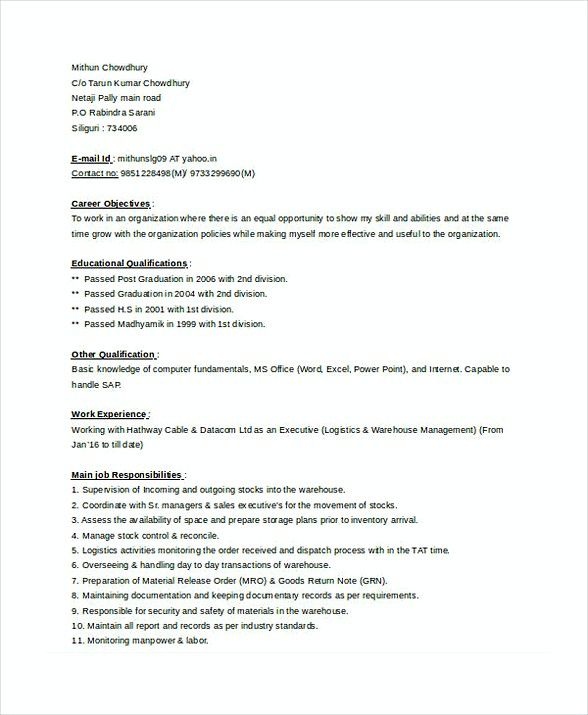 Store Manager Resume 1 , Assistant Store Manager Resume , Here is - store manager resume sample