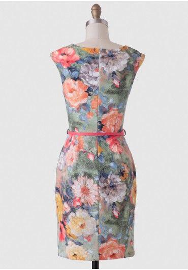 Art Walk Floral Dress | Modern Vintage Dresses | Modern Vintage Clothing | Ruche | Ruche