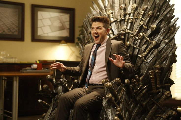Ben Wyatt the Geek - Parks & Rec/Game of Thrones