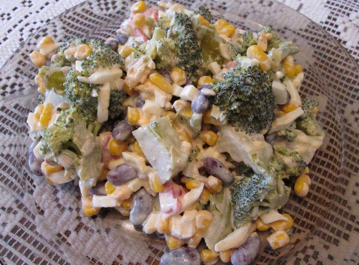 Sałatka z brokuła - pychota