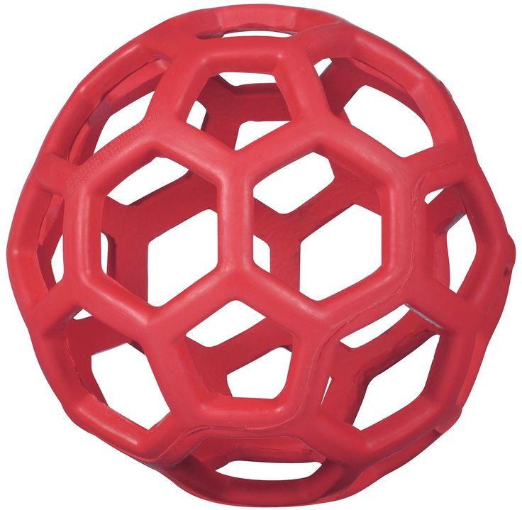 De JW Hol-ee Roller is gezellig speelgoed van natuurlijk duurzaam rubber. Makkelijk weg te gooien of te rollen en zacht in de bek van je Doodle. Wij gebruiken de Hol-ee Roller als een puzzel door een traktatie in een stukje fleece te rollen en die vervolgens in de Hol-ee Roller te stoppen.