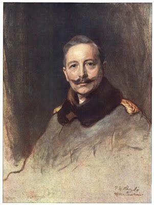 Lukisan Kaiser Wilhelm II karya Philip Alexius de László (1869-1937), pelukis keturunan Yahudi kelahiran Hungaria tapi tinggal di Inggris (!