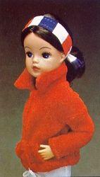 Vintage 1970s Sindy Fashion Doll.
