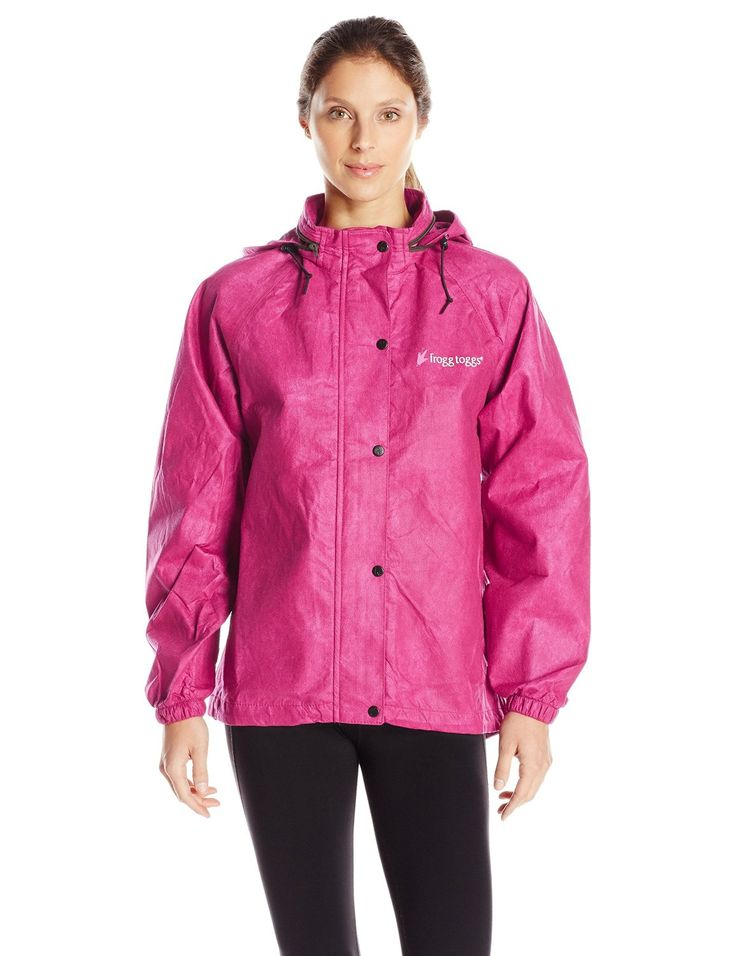 Look great and feel protected on the course with this high quality waterproof womens all purpose golf rain suit by Frogg Toggs!