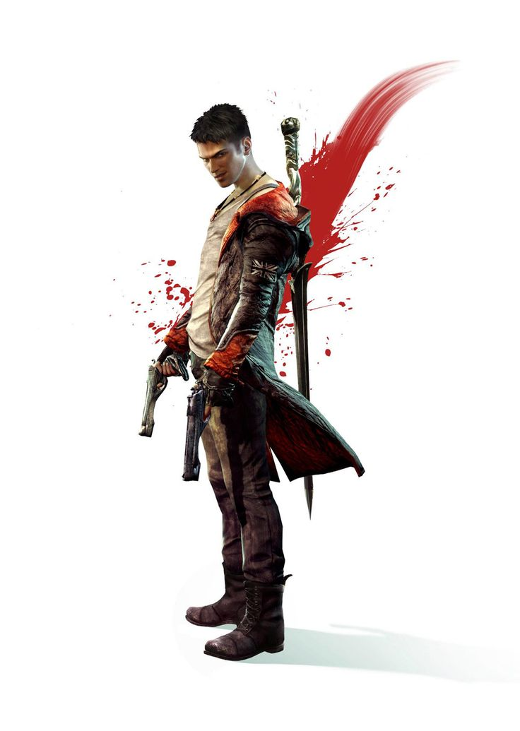 Character design - DMC: Devil May Cry Concept Art