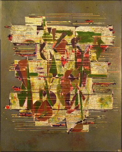 Nicolas Roggy, Sans titre, 2011. Technique mixte sur papier, 35 x 25 cm<br><br>Courtesy Galerie Crèvecœur © Nicolas Roggy