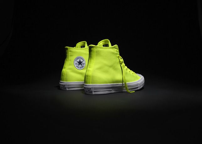 Brighten up your life with the new Converse Chuck Taylor All Star II Limited Edition Volt!
