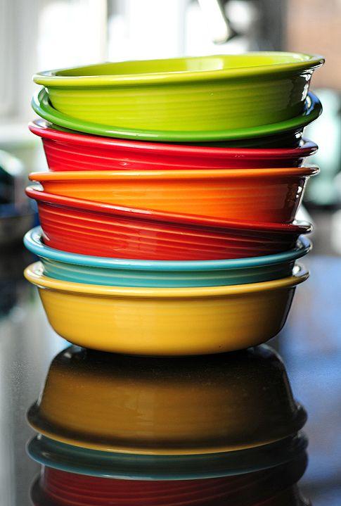 Fiesta Dinnerware from @Amy Johnson / She Wears Many Hats