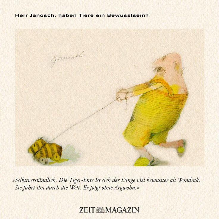 Amazing Herr Janosch haben Tiere ein Bewusstsein