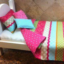 American Girl Doll Inspired Bedding Set Bedspread Comforter Coverlet Araya