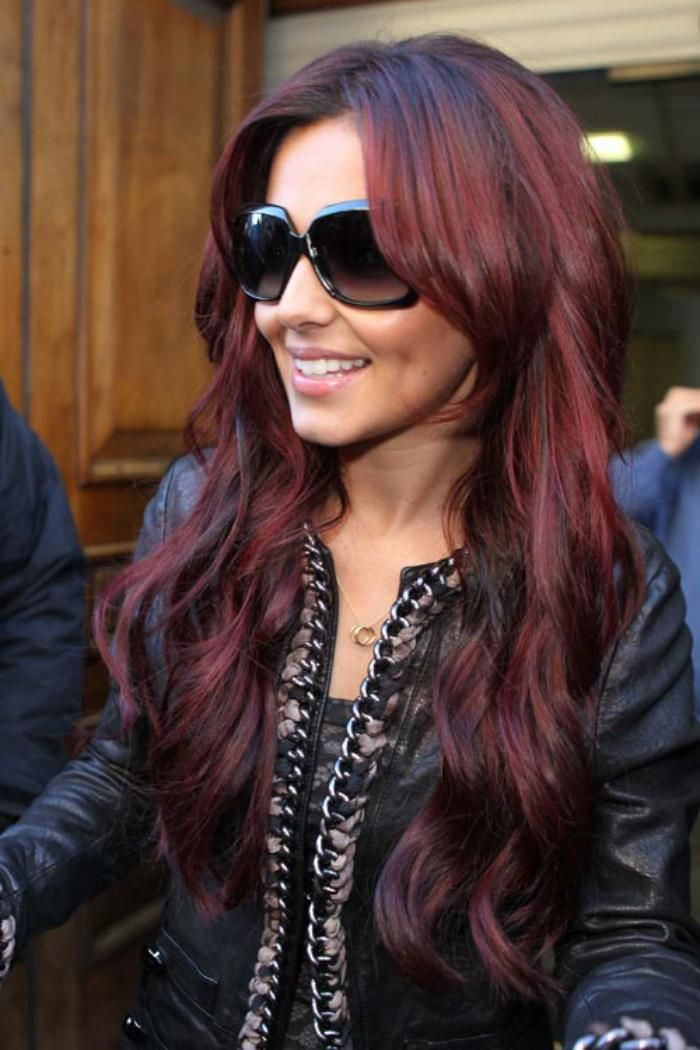 teinture acajou coiffures couleur acajou - Coloration Cheveux Acajou