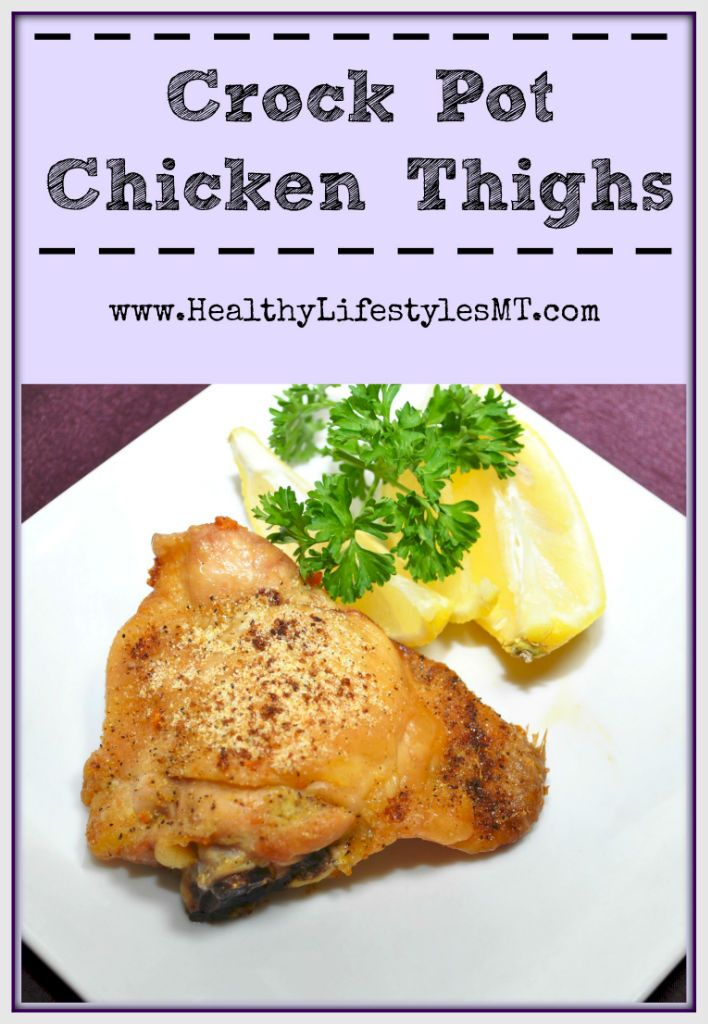 a simple and healthy recipe for chicken thighs in the