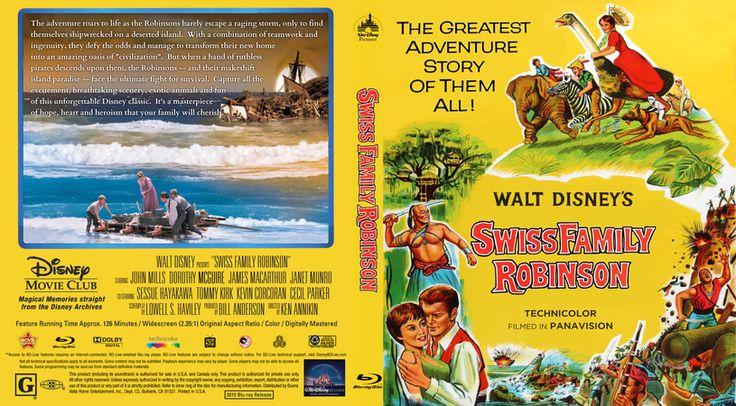 Swiss Family Robinson Blu-ray Custom Cover