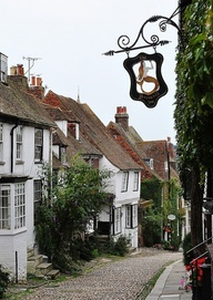 Rye, Mermaid Street, East Sussex, England--been there, done that, would do it in a New York minute if you're paying.