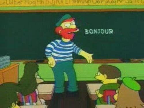"""""""Bonjourrrrrrr pedazo de zoquetes!!!"""""""