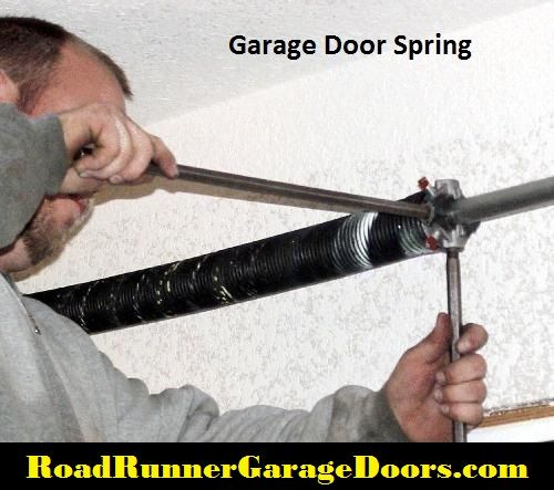 Low Cost to Fix a Garage Door Spring Repair in Houston Spring replacement is the most dangerous job on the garage door and the National Safety Council warns consumers that only qualified individuals should repair or replace torsion springs.
