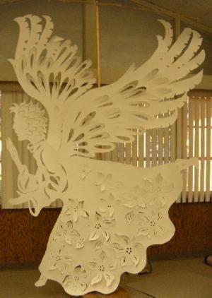 Paper-cut Angel
