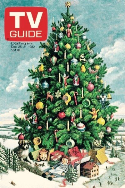 1982 TV Guide holiday cover