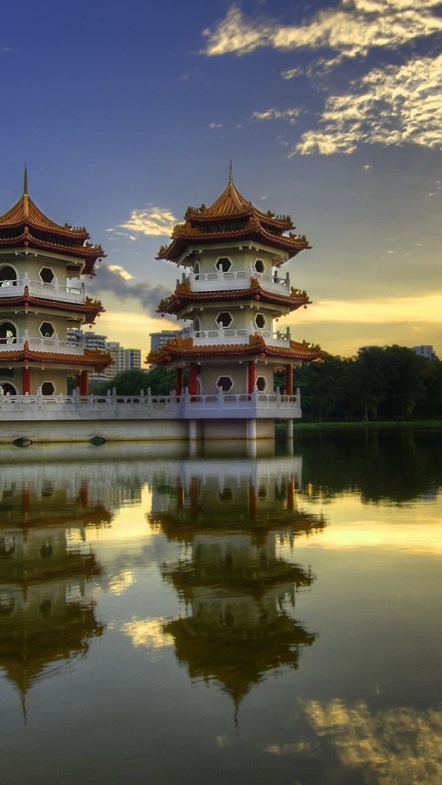 Pagoda Temples in China