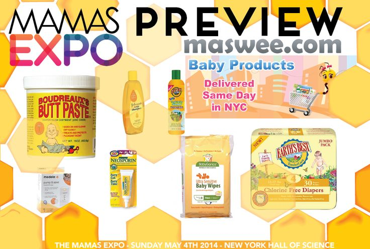 YES PLEASE! Maswee.com Offers NYC Same Day Delivery of Diapers, Wipes and More - The Mamas Expo