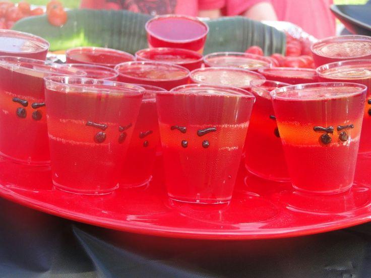 Ninjago Birthday Party ~ Ninjago Gelatin  #ninjago #party
