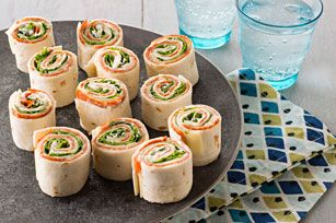 Antipasto Tortilla Appetizers recipe - Antipasto appetizers are always a crowd-pleaser. And these—rolled up in four tortillas—make them as fun as they are tasty.