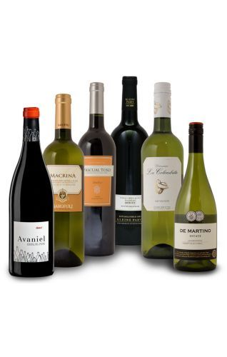 Met dit wijnpakket ervaart u de verschillen te proeven tussen verschillende druiven, bevat 6 wijnen gemaakt van verschillende druifsoorten.