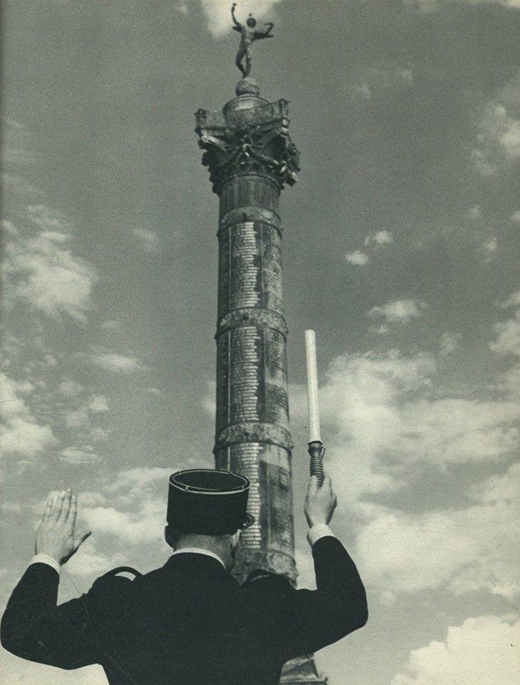 Place de la Bastille, fin années 1950 ©René Maltête