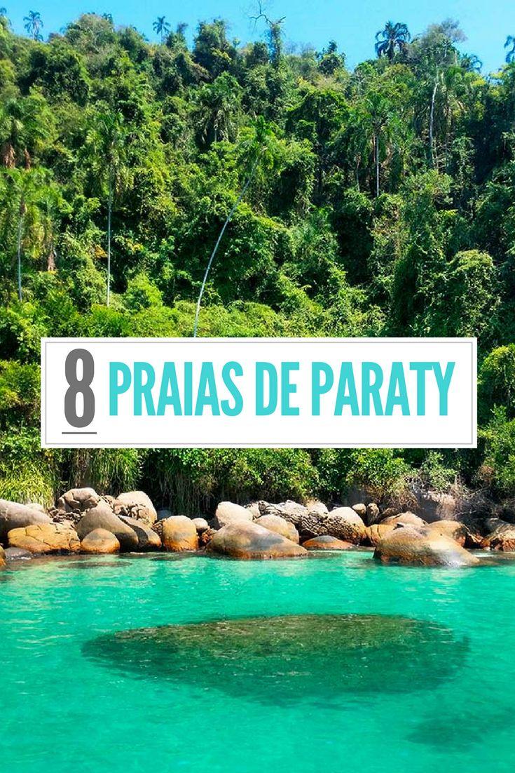 Conheça 8 praias de Paraty, no Rio de Janeiro, que vão te provar que a cidade tem muito mais além do Centro Histórico.