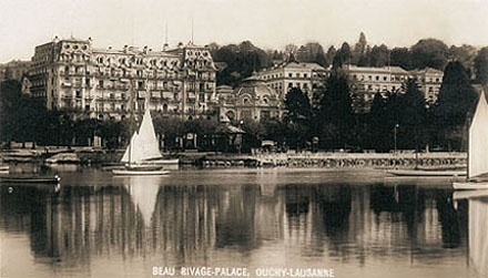 Beau-Rivage Palace, Lausanne, Switzerland