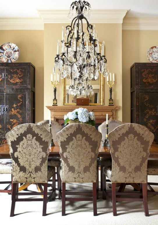 Formal Dining Room by Reggie Marshall and Jim Clements #marshallclements #interiors