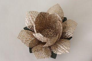 15 forminhas de tecido para doces finos (flor de lótus luxo)