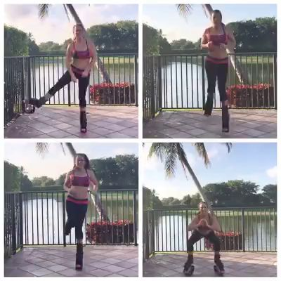 Happy #workoutwednesday - I love my Kangoo Jumps. It is a form of rebounding which works every muscle in your body as well as your lymph system your body's natural detoxification system.  Talk about efficient exercise!   Read my article on Kangoo Jumps and their benefits:   https://lauralondonfitness.com/bounce-your-way-to-weight-l…/  Kangaroo jump circuit workout - do each exercise for one minute then repeat for a total of 3 circuits.
