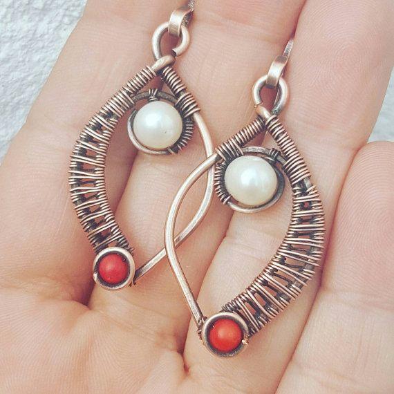 Best 25+ Handmade wire earrings ideas on Pinterest | Wire ...