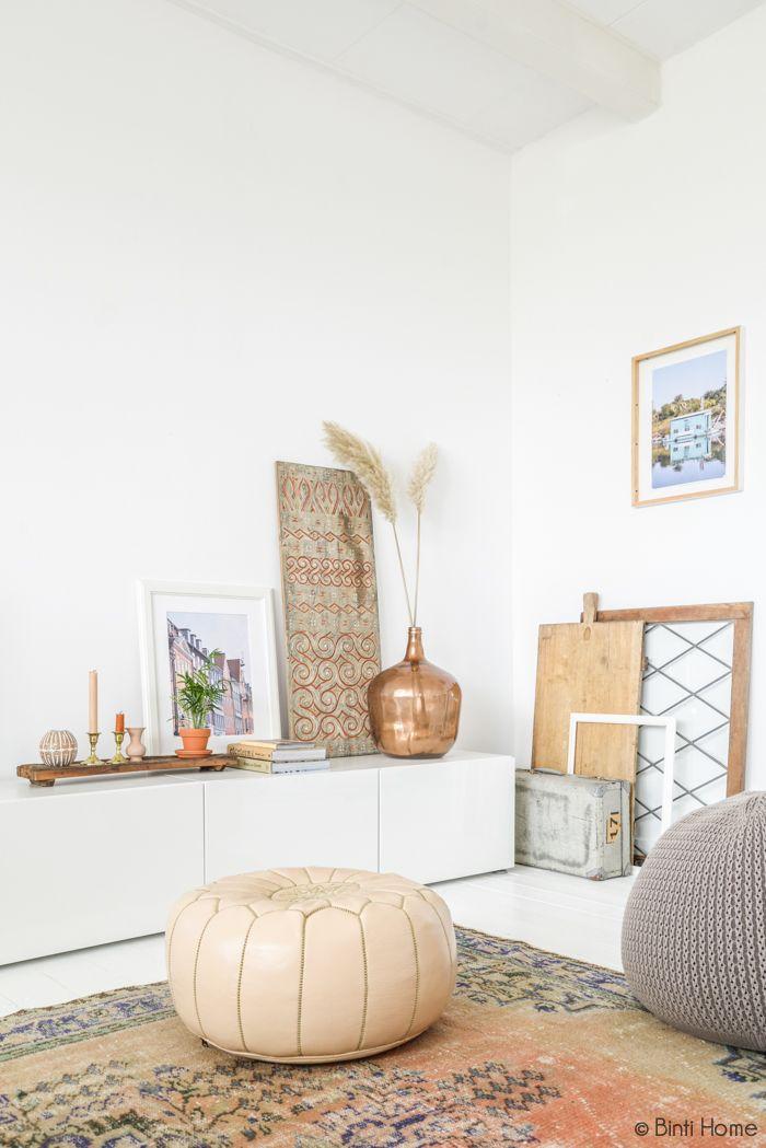Kelims bringen mit ihren leuchtenden Farben und orientalischen Mustern Pepp in die Bude | brighten up your home with a colourful kilim rug is a simple way to create a bohemian or vintage style