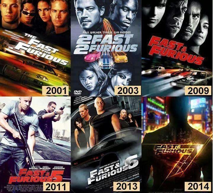 Fast Furious 1.....7   fast n furious   Pinterest