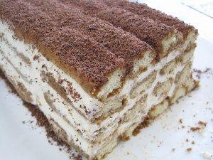 tiramisu cake recipe / will have to try this soon