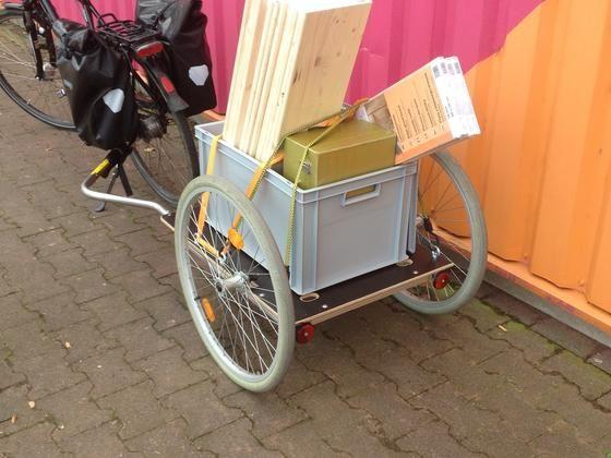 fahrrad anh nger bauanleitung zum selber bauen selber. Black Bedroom Furniture Sets. Home Design Ideas