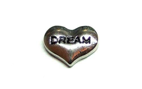 """""""Dream"""" szív emlékőr charm"""