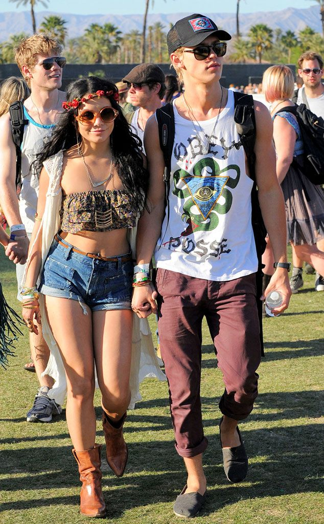 Vanessa Hudgens & Austin Butler at Coachella.