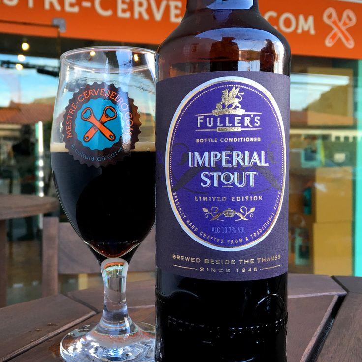 Fuller's Imperial Stout #cerveja #beer