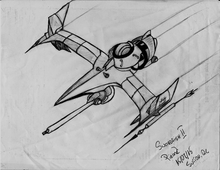 swordfish II sketch