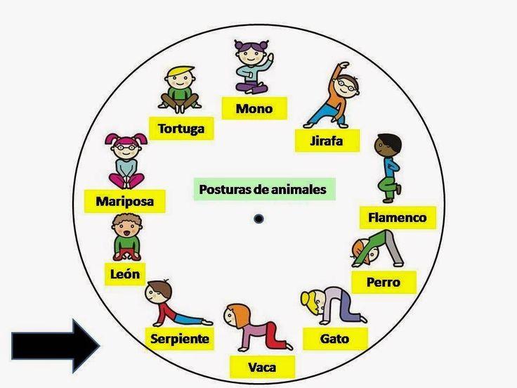 Resultado de imagen de yoga para niños posturas animales