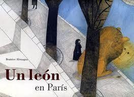 La Pajarita de Papel: Un león en Paris (cuento)