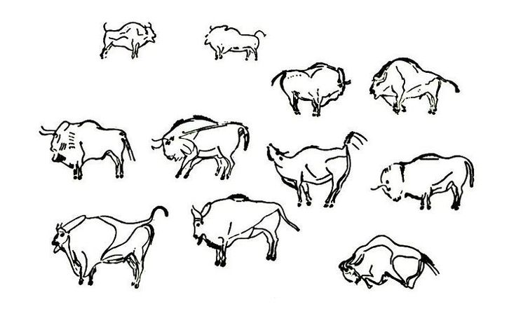 cave paintings coloring pages - photo#6